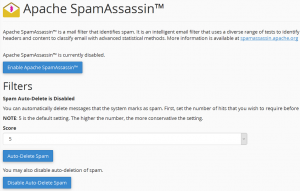 email spamassassin